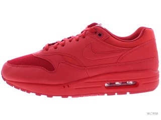 【US9】NIKE AIR MAX 1 PREMIUM 875844-600 university red/university red