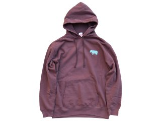 Gorgasali HOODED PARKA brown