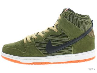 【US10.5】NIKE SB DUNK HIGH PRO SB 305050-308 faded olive/black-hypr crimson