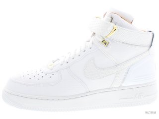 【US10】NIKE AIR FORCE 1 HI JUST DON ao1074-100 white/white-white