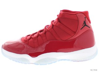 AIR JORDAN 11 RETRO 378037-623 gym red/black-white