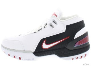 【US6.5】NIKE AIR ZOOM GENERATION QS aj4204-101 white/white-varsity crimson