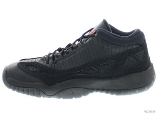 【US5Y】AIR JORDAN 11 RETRO LOW BG 768873-003 black/true red-black