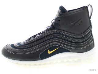 【US8】NIKE AIR MAX 97 MID / RT 913314-001 black/metallic gold-anthracite