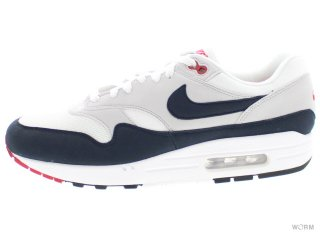 【US10】NIKE AIR MAX 1 ANNIVERSARY 908375-104 white/dark obsidian