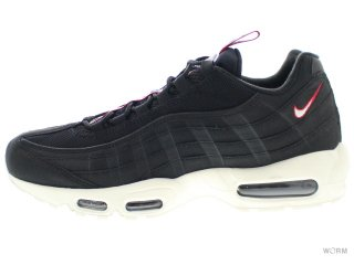 【US10】NIKE AIR MAX 95 TT aj1844-002 black/sail-gym red