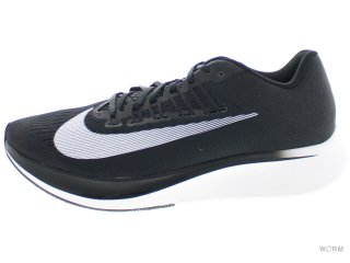 【US9.5】NIKE ZOOM FLY 880848-001 black/white-anthracite