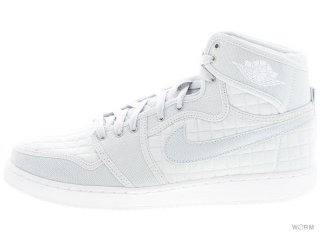 【US11】AJ1 KO HIGH OG 638471-004 pure platinum/white-mtllc slvr