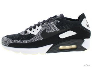 【US11】NIKE AIR MAX 90 ULTRA 2.0 FLYKNIT 875943-001 black/black-white