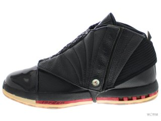 AIR JORDAN 16 RETRO CDP 322723-061 black/varsity red