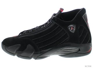 【US10】AIR JORDAN 14 RETRO CDP 311832-061 black/varsity red