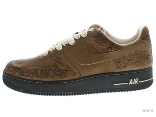 NIKE AIR FORCE 1 BY STEPHAN MAZE GEORGES 308427-331 cls olive/cls olive-birch-blk