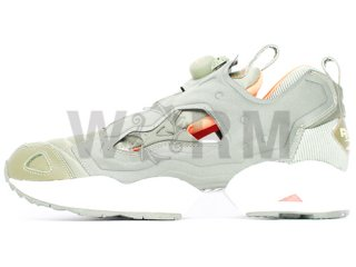 【US9】Reebok INSTA PUMP FURY FLIGHT CL 1-j21535 moss green/white/orange