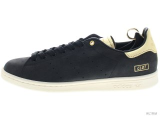 adidas STAN SMITH - CLOT m22696 black1/chalk2 / metgol