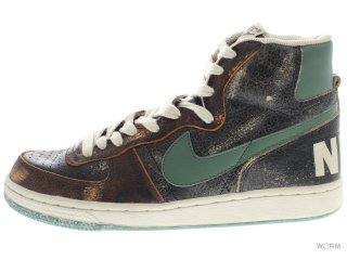 NIKE TERMINATOR HI PREMIUM 307893-031 black/nori-dark brown-net