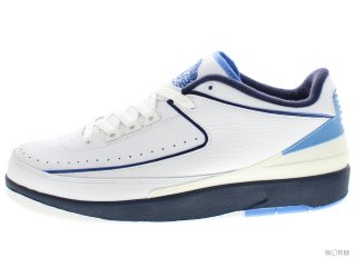 AIR JORDAN 2 RETRO LOW 309837-141 white/midnight navy-univ blue