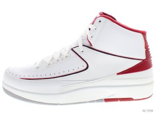 AIR JORDAN 2 RETRO 385475-102 white/black-vrsty red-cmnt gry