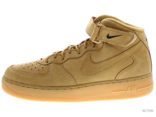 NIKE AIR FORCE 1 MID '07 PRM QS 715889-200 flax/flax-outdoor green
