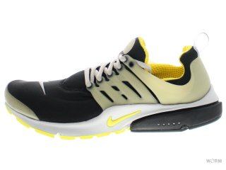 【S(size9-10)】NIKE AIR PRESTO QS 789870-001 black/yellow streak-ntrl grey
