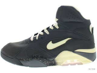 【US11】NIKE AIR FORCE 180 MID 537330-001 anthracite/vibrant yellow-blck