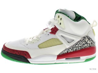 【US10】JORDAN SPIZIKE 315371-161 white/varsity red-c grey-cls g