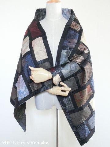 着物リメイク✿大島紬からの...