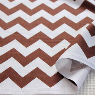 Medium Chevron - Brown