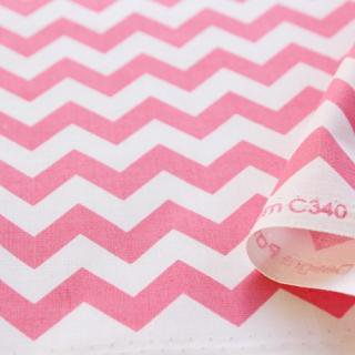 Small Chevron - Hotpink