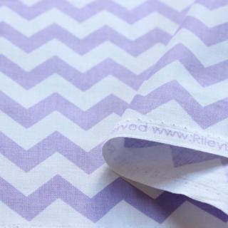 Small Chevron - Lavendar
