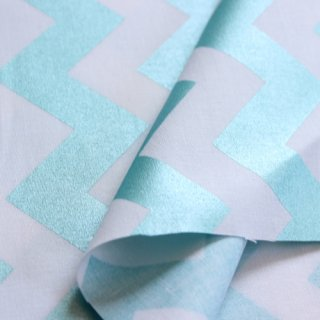 Hollywood Sparkle Med Chevron Aqua