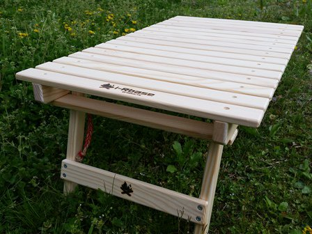 i-Rbase焚き火に合うテーブル(無塗装)