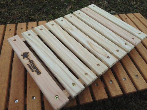 i-Rbaseマキダイminiと木箱のどちらでもいける テーブル天板mini ALL杉
