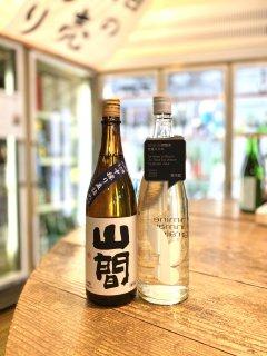 【おうちでたのしもう】まえつるセレクト伸び盛り一推し 純米酒セット 山間とオオミネ720ml