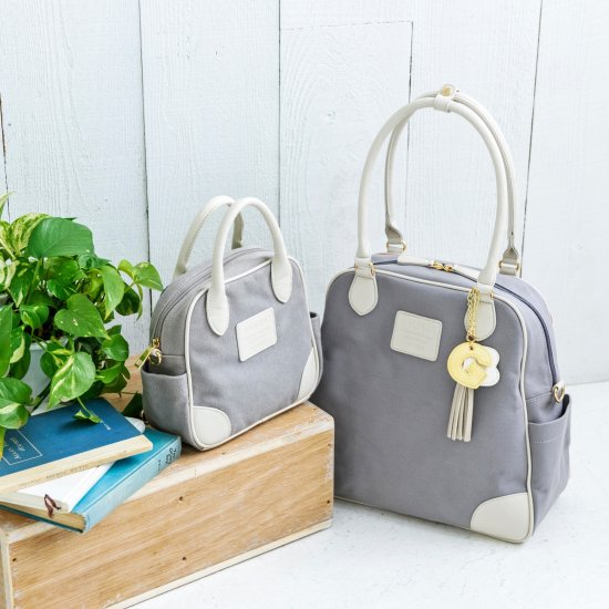 [20%OFF]マザーズバッグ+ちびバッグ 親子コーデセット/グレー<img class='new_mark_img2' src='https://img.shop-pro.jp/img/new/icons20.gif' style='border:none;display:inline;margin:0px;padding:0px;width:auto;' />