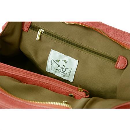 【完売】ガールズバッグ(GIRLS BAG)ノーマル/サーモンピンク