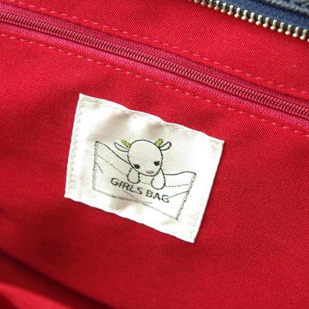 【完売】ガールズバッグ(GIRLS BAG)ミニ/ネイビー