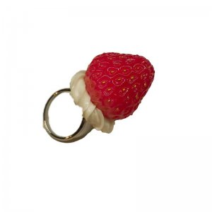 クリーム苺リング Strawberry on the cream ring