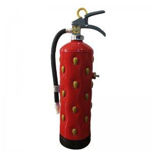 いちご消火器(インテリア) Strawberry fire extinguisher
