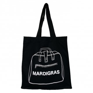 MARDIGRAS|Square tote bag<Black>
