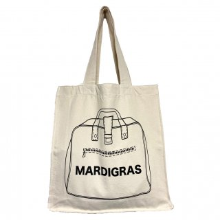 MARDIGRAS|Square tote bag<Natural>