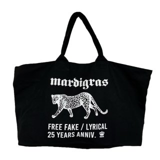 MARDIGRAS|Zip tote bag 「free fake panther」
