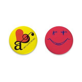 ART LOVE MUSIC|缶バッジセット