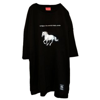 <img class='new_mark_img1' src='//img.shop-pro.jp/img/new/icons34.gif' style='border:none;display:inline;margin:0px;padding:0px;width:auto;' />MARDIGRAS|Original body Tee 「MARDIGRAS HORSE B」