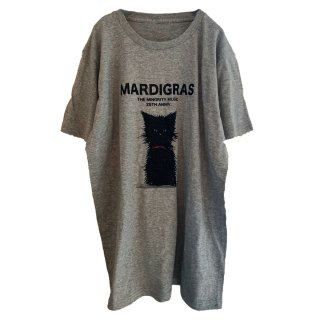 <img class='new_mark_img1' src='https://img.shop-pro.jp/img/new/icons16.gif' style='border:none;display:inline;margin:0px;padding:0px;width:auto;' />MARDIGRAS|Tee 「RIBBON CAT」 Onlline Limited<Heather gray>