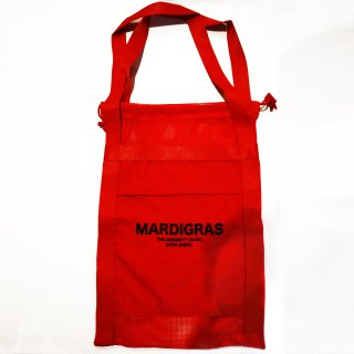 <img class='new_mark_img1' src='https://img.shop-pro.jp/img/new/icons34.gif' style='border:none;display:inline;margin:0px;padding:0px;width:auto;' />MARDIGRAS|Screen Tote Bag 「MARDIGRAS」<Red>