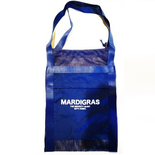 <img class='new_mark_img1' src='https://img.shop-pro.jp/img/new/icons34.gif' style='border:none;display:inline;margin:0px;padding:0px;width:auto;' />MARDIGRAS|Screen Tote Bag 「MARDIGRAS」<Blue>