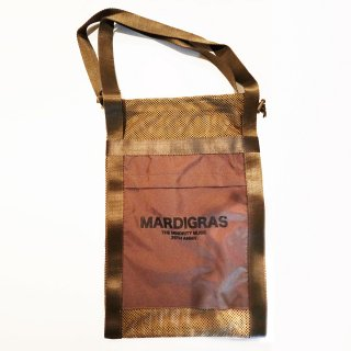 <img class='new_mark_img1' src='//img.shop-pro.jp/img/new/icons34.gif' style='border:none;display:inline;margin:0px;padding:0px;width:auto;' />MARDIGRAS|Screen Tote Bag 「MARDIGRAS」<Khaki>