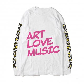 ART LOVE MUSIC|Leopard Big-T