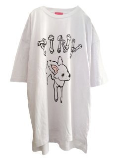 <img class='new_mark_img1' src='//img.shop-pro.jp/img/new/icons58.gif' style='border:none;display:inline;margin:0px;padding:0px;width:auto;' />MARDIGRAS|Original Body Big Silhouette Tee 「TINY C」