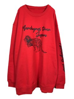 MARDIGRAS|Sweat「Tiger Rose Mardigras Tour」<Red>